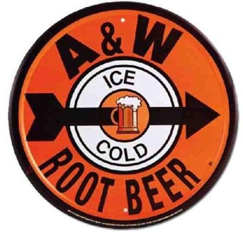ShopForAllYou Vintage Decor Signs A & W Root Beer 12