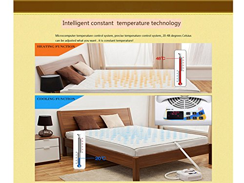 Air Conditioner Mattress Topper Bed Fan Cooling System And