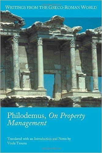 ❇️ Téléchargement de livres en pdf Philodemus, On Property