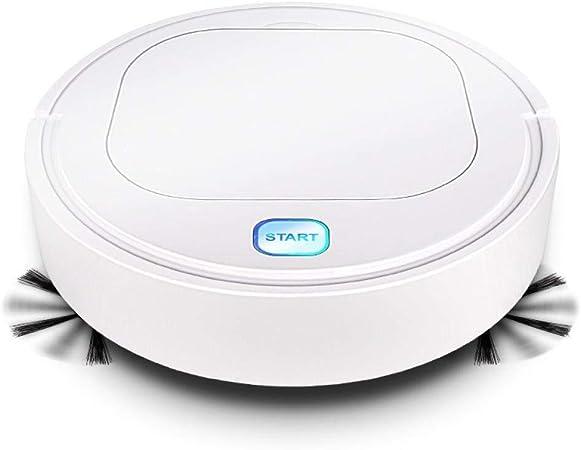 HYL Aspiradora Inteligente Robot Vacuum Cleaner, Limpia Pisos Duros y alfombras Thin Lazy Barrido Arrastrando Limpieza automático Inteligente: Amazon.es: Hogar
