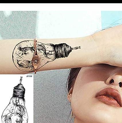 LFVGUIOP Creativa Goldfish Carp Catfish Fish Impermeable Tatuajes ...