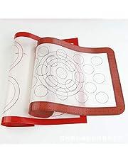 Antistick Macaron Siliconen Bakmat Niet Stick Cirkel Macaroon Pad Sheet Keuken Rolling Dough mat Liner Tool/Transparant/302x202mm