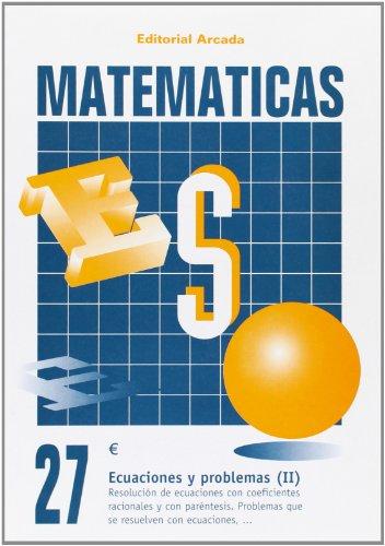 Descargar Libro Cuaderno Matematicas 27 - Ecuaciones Y Problemas Aa.vv.