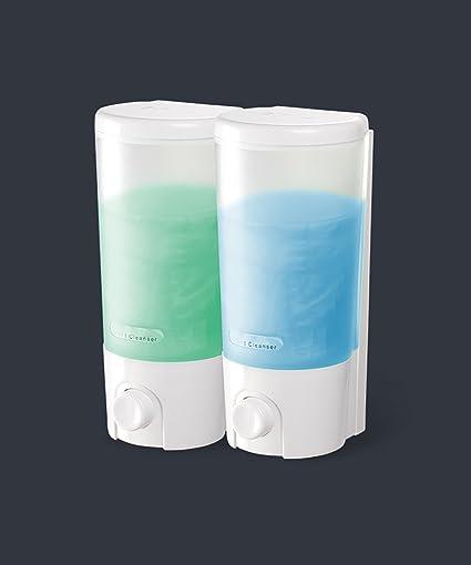 Dispensador de jabón WOLOSZ Dispensador de jabón manual de pared Shampoo Dispensador de jabón de mano