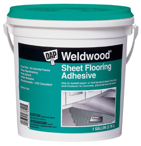 Dap 25178 Weldwood Sheet Flooring Adhesive, Gallon (Sheet Adhesive Flooring)