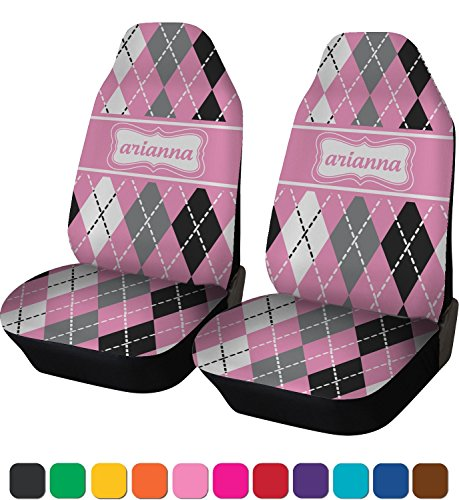 RNK Shops Argyle Car Seat Covers (Set of Two) (Personalized)