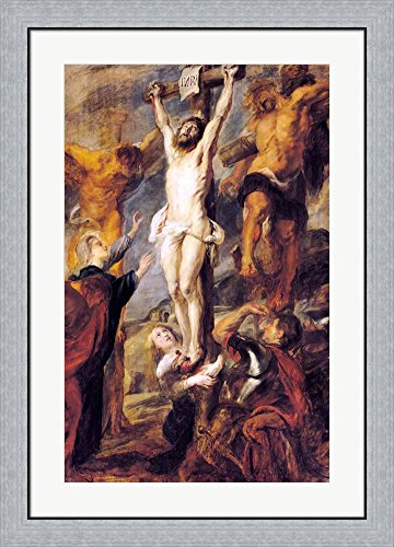 Amazon Christ Between The Two Thieves By Peter Paul Rubens