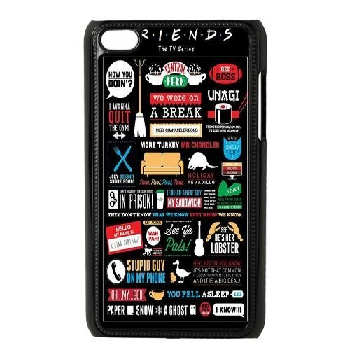DIY Friends Ipod Touch 4 Phone Case, Friends Customized Hard Back Case for iPod Touch4 at Lzzcase