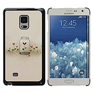 Be Good Phone Accessory // Dura Cáscara cubierta Protectora Caso Carcasa Funda de Protección para Samsung Galaxy Mega 5.8 9150 9152 // Flowers Locked Heartbreak Deep