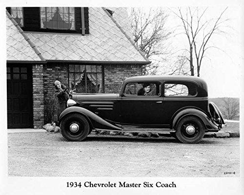 Amazon com: 1934 Chevrolet Master Six Coach Factory Photo