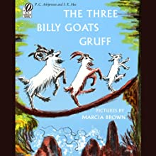 The Three Billy Goats Gruff Audiobook by P.C. Asbjornsen Narrated by Rex Robbins