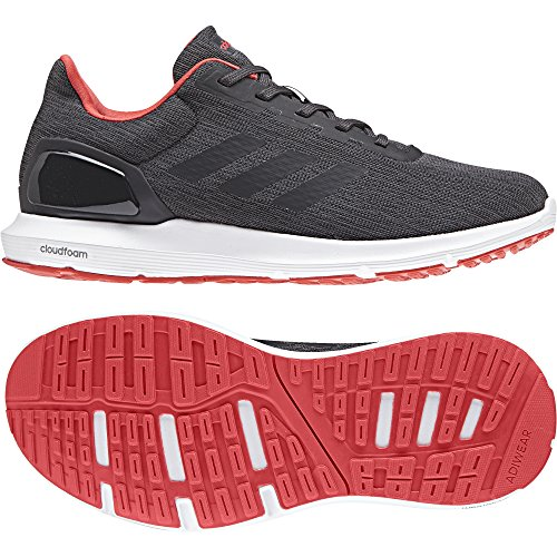 adidas Damen Cosmic 2 Laufschuhe Grau (Carbon S18/carbon S18/real Coral S18 Carbon S18/carbon S18/real Coral S18)