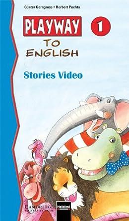 Amazon com: Playway to English Stories video 1 PAL [VHS]: Günter