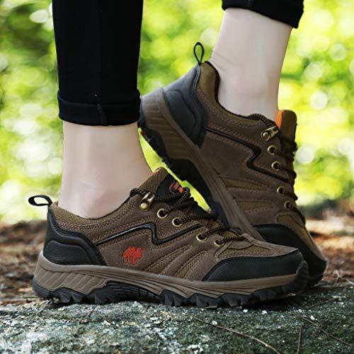 brown Size Hiking Non Shoes Wading Big Suede Slip Giles Mountain Climbing Jones Shoes Women wz7nxOAqU