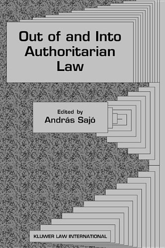 Out of and into Authoritarian Law pdf