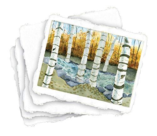 Natural White Handmade Watercolor Paper