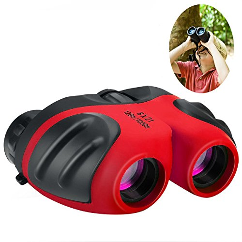 Best Gifts for Teen Girl, Best-Sun Compact Watreproof & Shock Proof Binocular Binocular for Kids Toys for 3-12 Year Old Girls to Watching Wildlife or (4 X 5 Ground Glass)