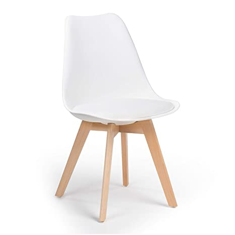 SKLUM Silla Nordic Blanco - (Elige Color)