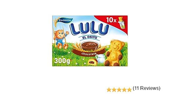Fontaneda Osito Lulu - Bizcochos Rellenos de Chocolate - Paquete de 150 g: Amazon.es: Alimentación y bebidas