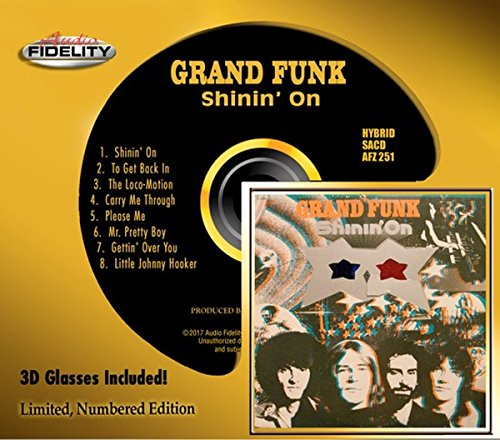 Grand Funk - Shinin' On [Audio Fidelity Edition] (1974/2017) [CD FLAC] Download