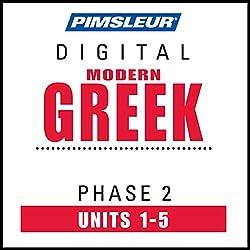 Greek (Modern) Phase 2, Unit 01-05
