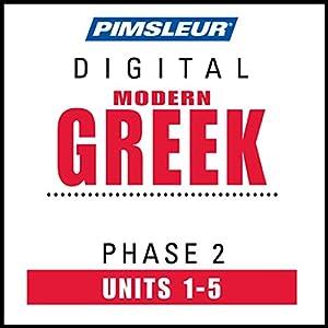 Greek (Modern) Phase 2, Unit 01-05 Audiobook