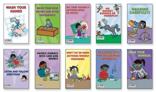 science experiment posters