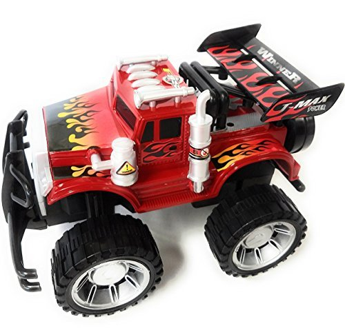 a Large! Monster Truck Children's Kid's Friction Toy Truck Ready To Run, High Speed 4WD Climbing, No Batteries Required (Buy Toy Story Furniture)
