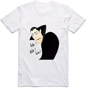 White Dracula T-Shirt For Men - size L