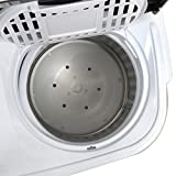 SUPER DEAL Portable Compact Mini Twin Tub Washing
