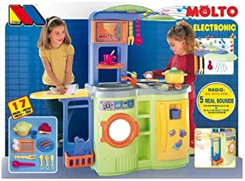 MOLTO - Cocina lavadora son sonidos 98 cm: Amazon.es: Juguetes ...