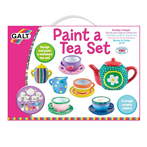 Galt Toys, Paint A Tea Set -