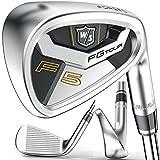 Wilson Staff FG Tour F5 Golf Iron Set, 4-PW,GW, Right Handed, Steel,...