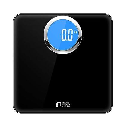 L-H-X Báscula de Peso báscula electrónica báscula de Hotel báscula precisa para el Cuerpo báscula Inteligente