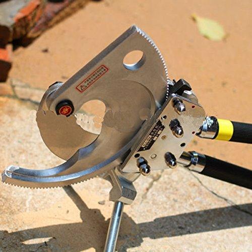 Mabelstar Top Qualität Langlebig Ratsche Kabelschneider Ratsche Drahtschneider xlj-120 a für Schneiden von Kupfer und Aluminium und Kabel unten 120 mm B06XWRB4YB | Verwendet in der Haltbarkeit
