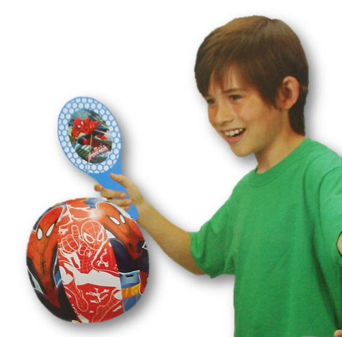 Licensed Super Paddle Ball Combo (Spiderman)
