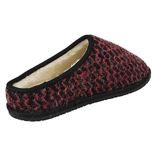 Womens Pink Alpine Clarks Adella Slippers 1Z6xEwpwq