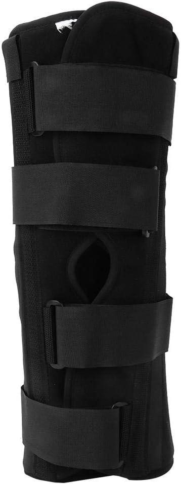 Yinhing Inmovilizador de férula para Rodilla. Fijación de fracturas y dislocaciones o Lesiones de ligamentos en Muslos. Rodillera Rodillera Confort Rígido Soporte