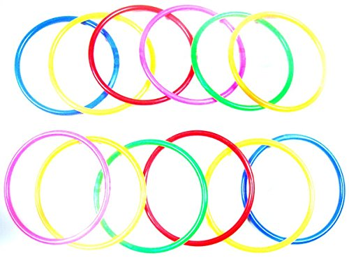 ctk-plastic-toss-rings-for-speed-and-agility-practice-gamespack-of-1015cm