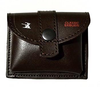 L-102 Classic Samurai Genuine Leather Shaving Travel Case