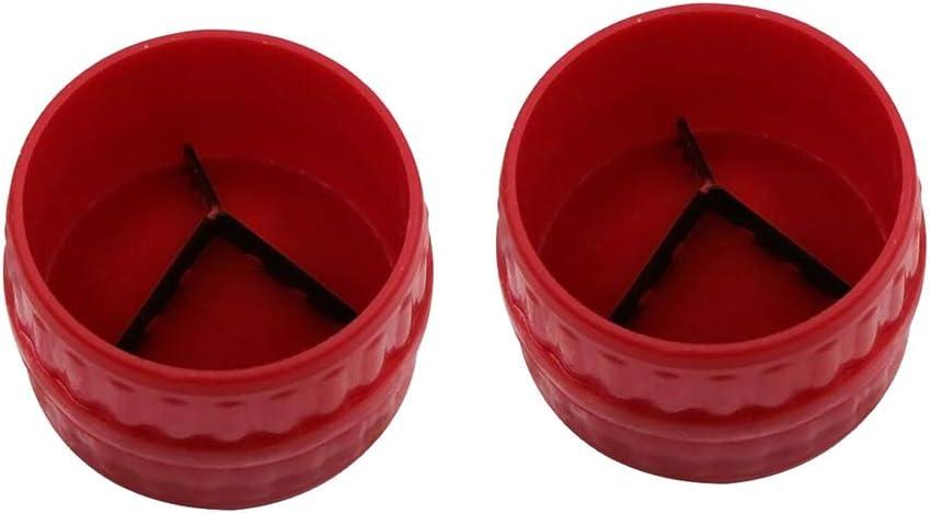 5 mm to 38mm B Blesiya 2pc High Strength Easy Plastic Burring Mchine Plumbing Reamer Tools Burr Remover 3//16 Inch to 1-1//2 Inch