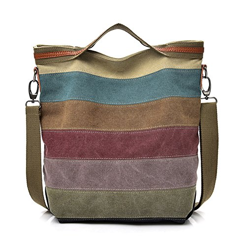 Crossbody Bags canvas Women ABLE Anti Messenger Water Shoulder Splash Multicolor 5 HZSYq0