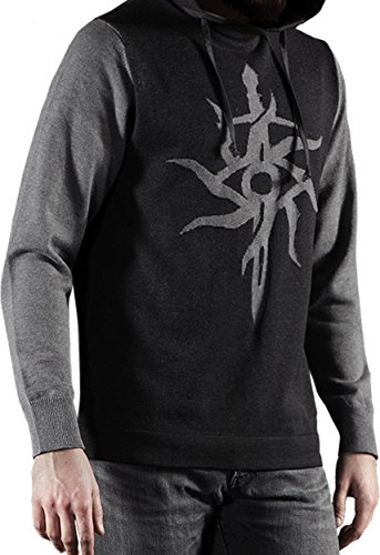 Musterbrand Dragon Age Sweat à capuche Homme The Inquisitor Knit Sweatshirt Gris XL