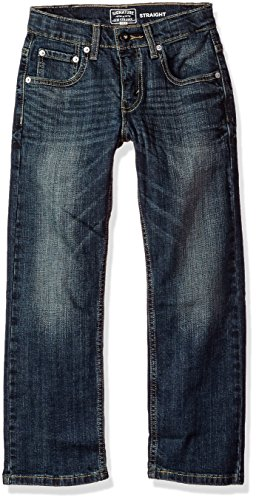 Signature by Levi Strauss & Co. Gold Label Big Boys' Straight Fit Jeans, Perth, 18 (Levi 505 Slim Boys)