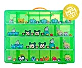 Official Disney Tsum Tsum Sticker Book + Mini Figures Compatible Storage Organizer. Stores Up to 60 Mini Figures. Customize Your Children's Storage Box With This Ultimate 1000+ Sticker Collection