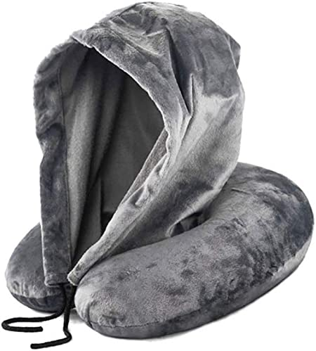Benrise Hooded Travel Pillow | Head, Chin and Neck Support