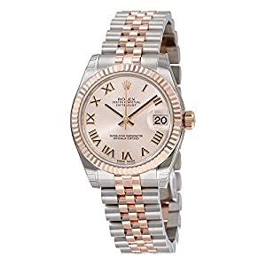 51lshwkKypL. SS300  - Rolex Datejust Pink Roman Dial Steel and 18kt Pink Gold Ladies Watch 178271PRJ