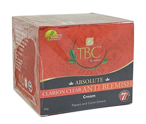 Tbc By Nature Absolute Clarion Clear Anti Blemish Papaya & Carrot Extracts Cream