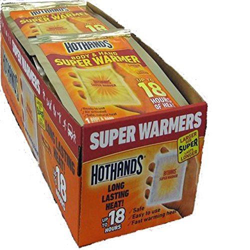 HotHands Body & Hand Super Warmer (120 Pair Economy Pack ) by HotHands (Image #1)