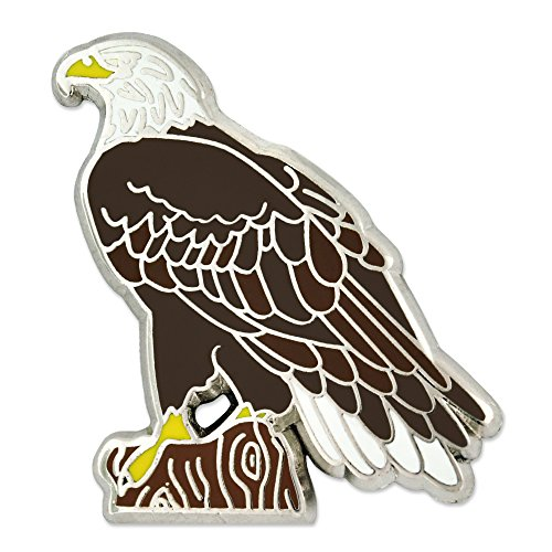 PinMart American Bald Eagle Animal Enamel Lapel Pin